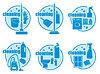 Set icon Reinigung