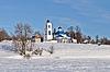 ID 3702838 | Stary rosyjski kościół w czasie zimy | Foto stockowe wysokiej rozdzielczości | KLIPARTO