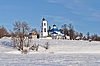 ID 3702838 | 旧俄语教堂在冬天的时候 | 高分辨率照片 | CLIPARTO