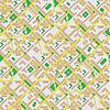 Abstrakte Karte der Stadt - nahtlose Hintergrund