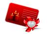 Valentinsgrußgrußkarte