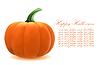 ID 3552343 | Realistyczny dyni na Halloween | Klipart wektorowy | KLIPARTO