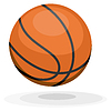 ID 3464036 | Cartoon Basketball. ips10 | Stock Vektorgrafik | CLIPARTO