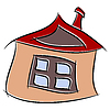 Graphic Cartoon Haus.