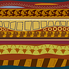 Tribal-Muster nahtlose Textur