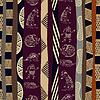 ID 3680688 | Nahtlose Muster mit Silhouetten von Dinosauriern | Stock Vektorgrafik | CLIPARTO
