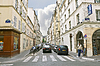 ID 3449237 | Lane w centrum Paryża. Francja | Foto stockowe wysokiej rozdzielczości | KLIPARTO