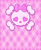 Cute Skull Hintergrund