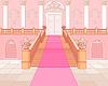 Luxury Treppe im Palast | Stock Vektrografik