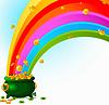 Pot of Gold und Regenbogen