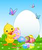 Easter Duckling Malerei Easter Eggs