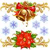 Weihnachts-Design-Elemente Set