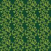 Seamless ornamental Grün Blumenmuster