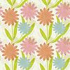 ID 3575527 | Seamless decorative flowers background | Stockowa ilustracja wysokiej rozdzielczości | KLIPARTO