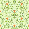 ID 3701228 | Floral seamless damask pattern | Klipart wektorowy | KLIPARTO
