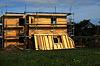 Rohbau eines Niedrigenergiehauses | Stock Photo