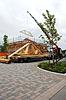 Konstrukcja dachu z domu | Stock Foto
