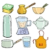 Küche Objekten