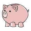 Sparschwein, Bild,