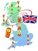 mobile connection of UK