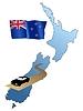 Straßen von New Zealand