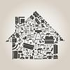 Векторный клипарт: Мебель для дома