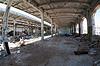 Ruinen, Ansicht eines alten, verlassenen Industrial interior | Stock Foto
