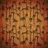 Grunge Bambus Hintergrund