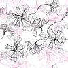 Jednolite kwiatowy wzór | Stock Vector Graphics
