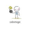 Sabotieren