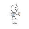 Person Getränke