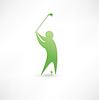 Golfer-Symbol