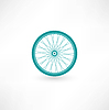 Bicycle Wheel Symbol | Stock Vektrografik