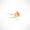 Flugzeug Symbolen