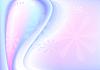 Bläuliche rosa wellig Hintergrund mit transparenten Blumen