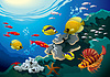수중 세계 | Stock Vector Graphics