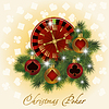 Christmas Poker Grußkarte