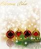Рождественский покер - открытка | Векторный клипарт