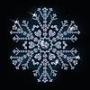 Schnee von Diamanten