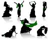 배꼽 춤 | Stock Vector Graphics