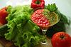Martwa natura z gazpacho | Stock Foto