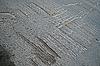 추상적 인 손상 아스팔트 도로, 손상된 재료 | Stock Foto