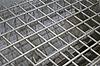 Streszczenie srebrna metalowa siatka, przemysł szczegóły | Stock Foto