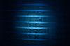 ID 3667775 | Magische blaue Licht auf Metallgitter, unbekannte Wissenschaft | Illustration mit hoher Auflösung | CLIPARTO