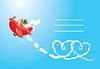 ID 3463635 | Lustige Karikatur. Teddybär aviator in der Liebe. Pilot | Stock Vektorgrafik | CLIPARTO