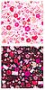 ID 3464029 | Nahtlose Muster für Valentine `s Day mit Tauben, | Stock Vektorgrafik | CLIPARTO