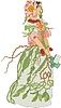 ID 3493748 | Briar Rose - Kobieta jako kwiat | Klipart wektorowy | KLIPARTO