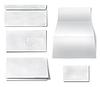 ID 3538602 | Коллекция различных пустой белой бумаги | Фото большого размера | CLIPARTO