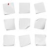 ID 3580375 | 각종 전단지 빈 흰색 종이의 컬렉션 | 높은 해상도 사진 | CLIPARTO