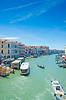 Вид на город Венеция в Италии | Фото